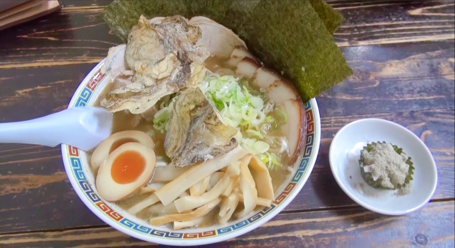 【長尾中華そば】こく煮干ラーメン+トッピング全部のせ (青森県青森市三好) 第62回
