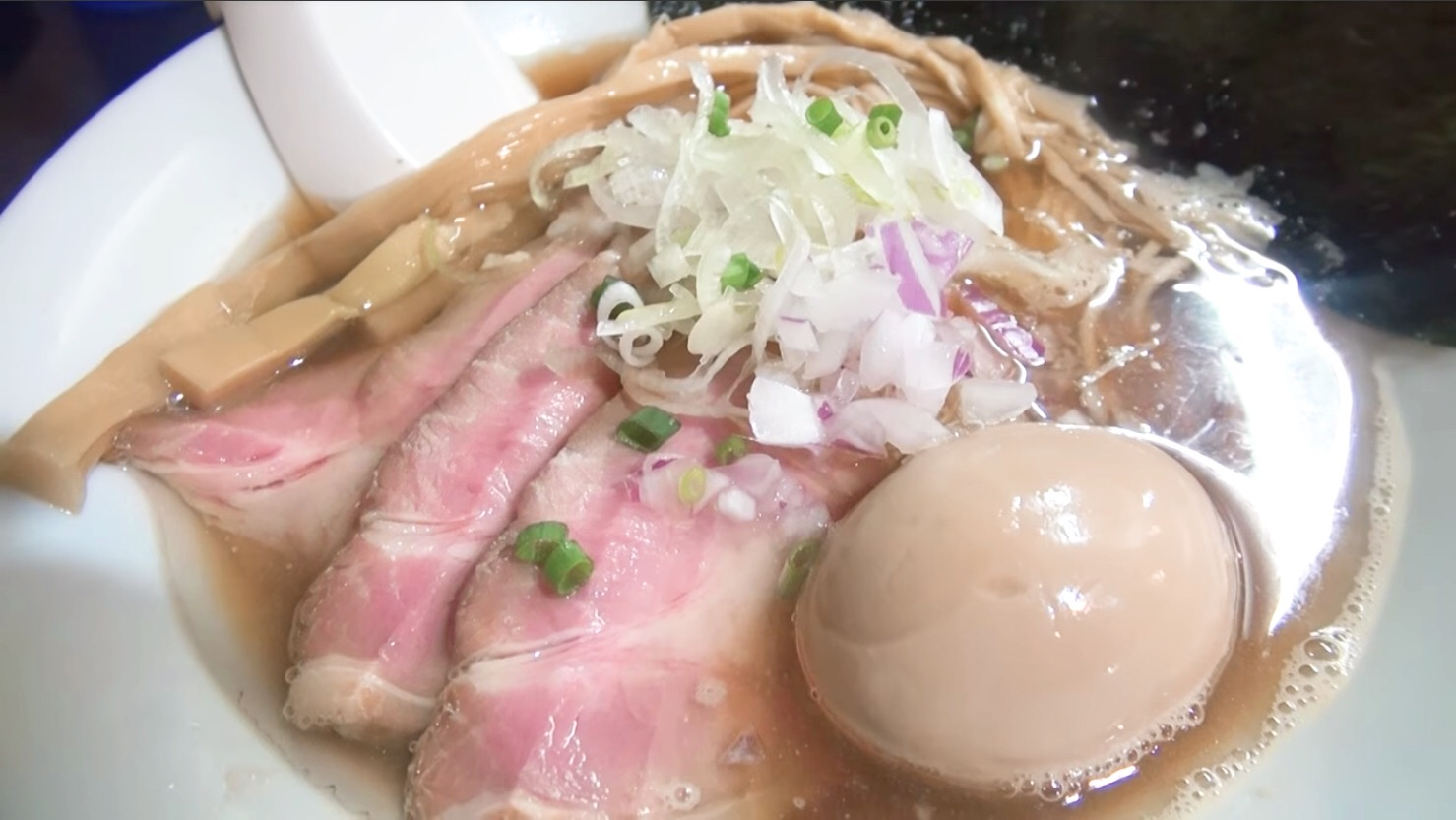 【麺処 晴(はる)】特製そば+和え玉(醤油) (東京都台東区下谷) 第174回