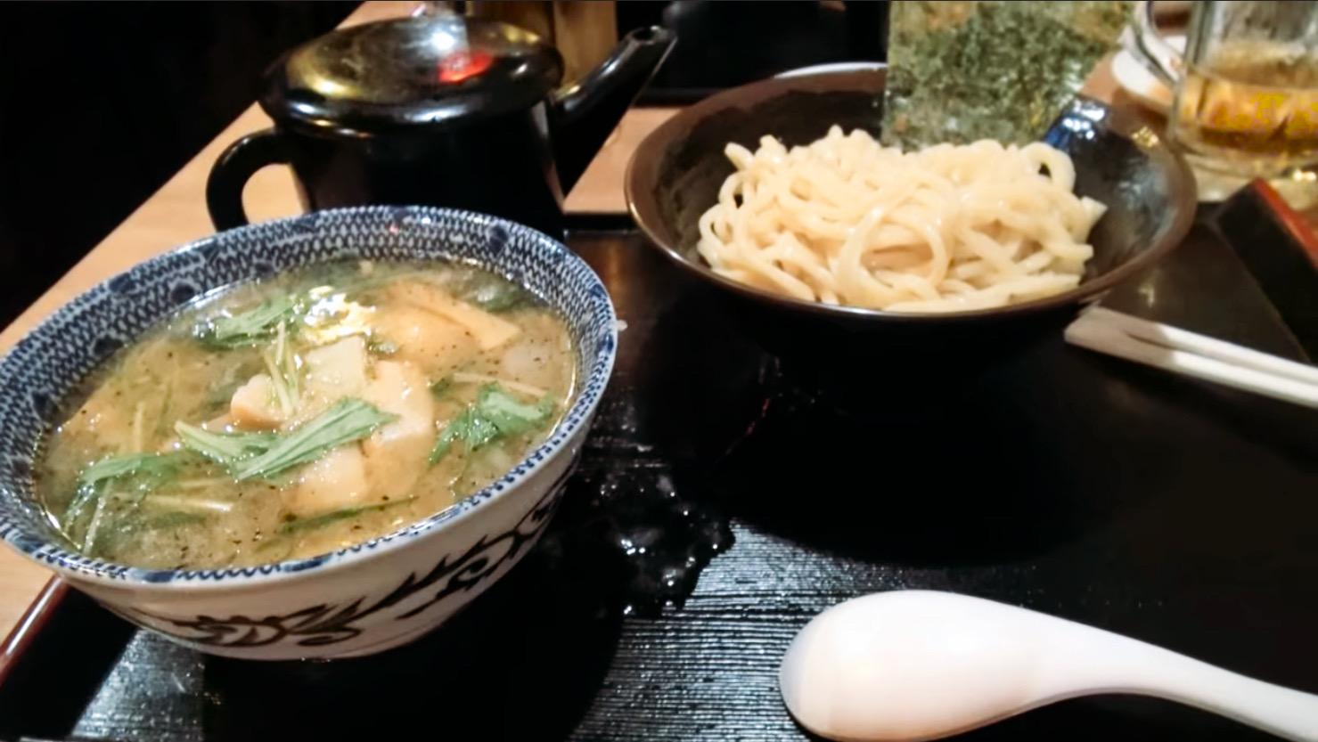 【めん屋 桔梗 新宿店】塩つけ麺 (東京都新宿区西新宿) 第187回