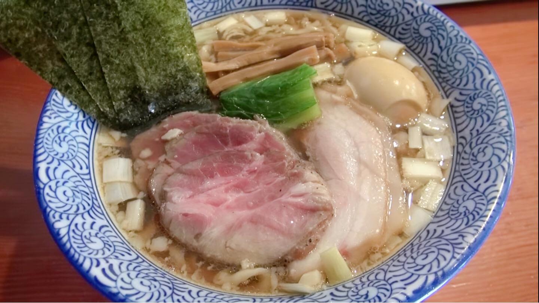 【麺処 ほん田】特製手揉み中華蕎麦 醤油(太麺) (東京都北区東十条) 第201回