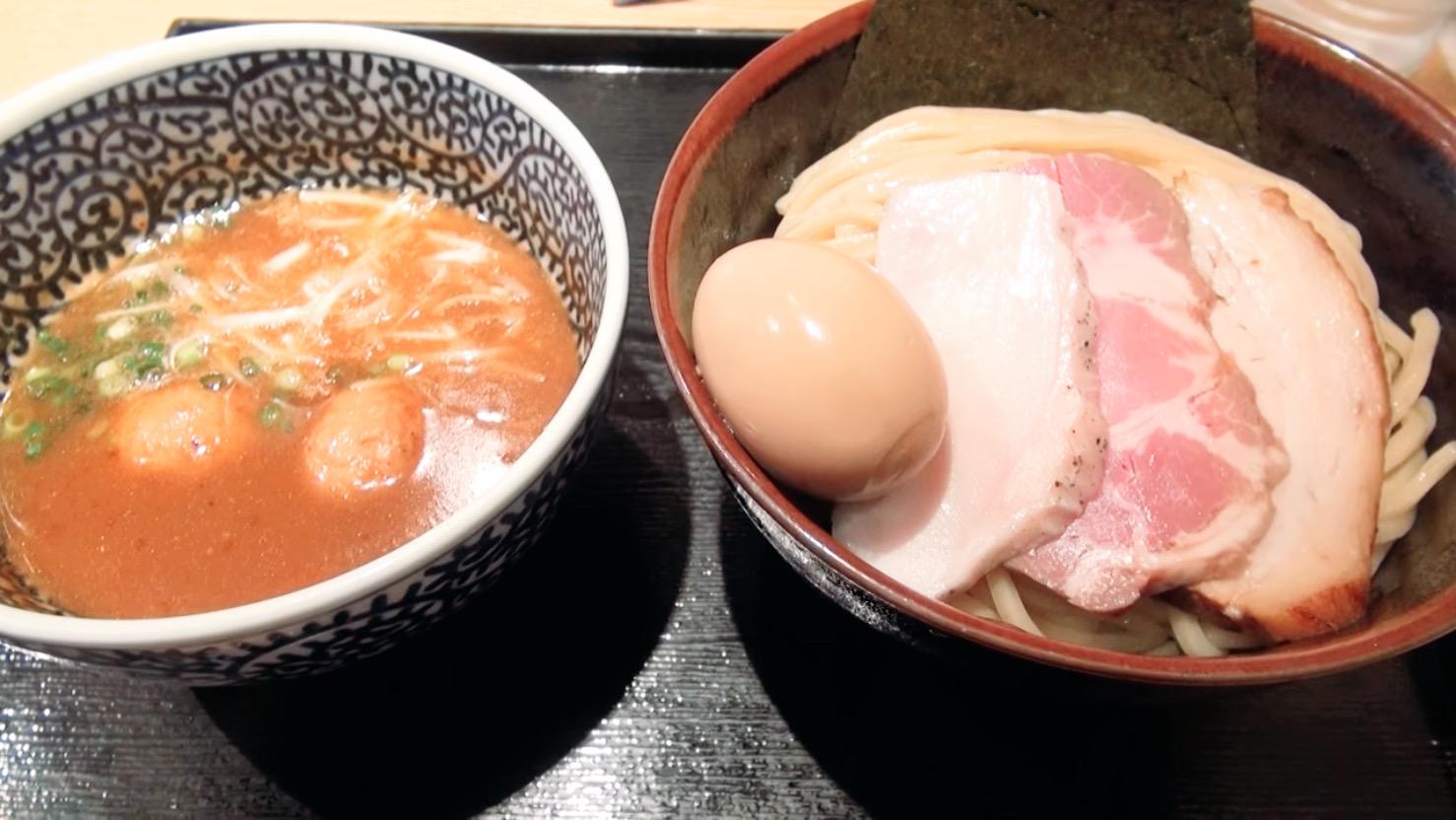 【麺屋一燈】特製濃厚魚介つけめん(中盛) (東京都葛飾区東新小岩) 第202回