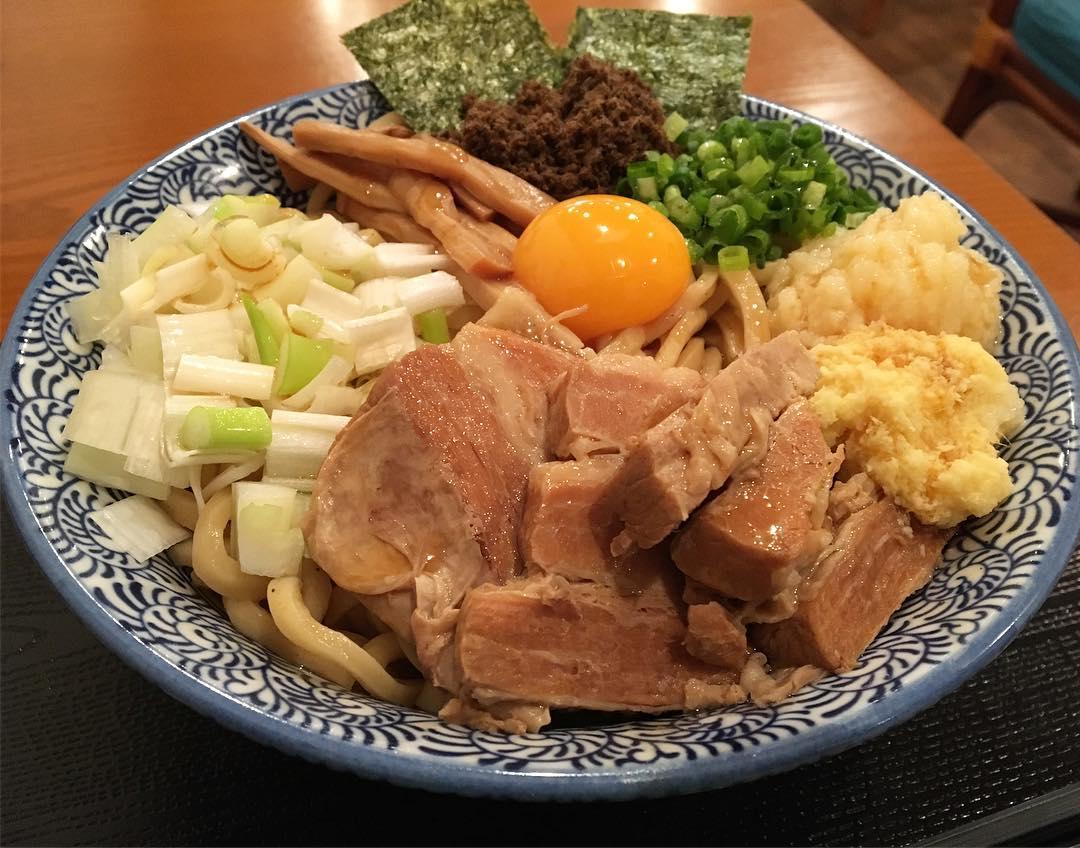 【麺SAMURAI桃太郎】まぜそば (岩手県奥州市江刺区) 第656回