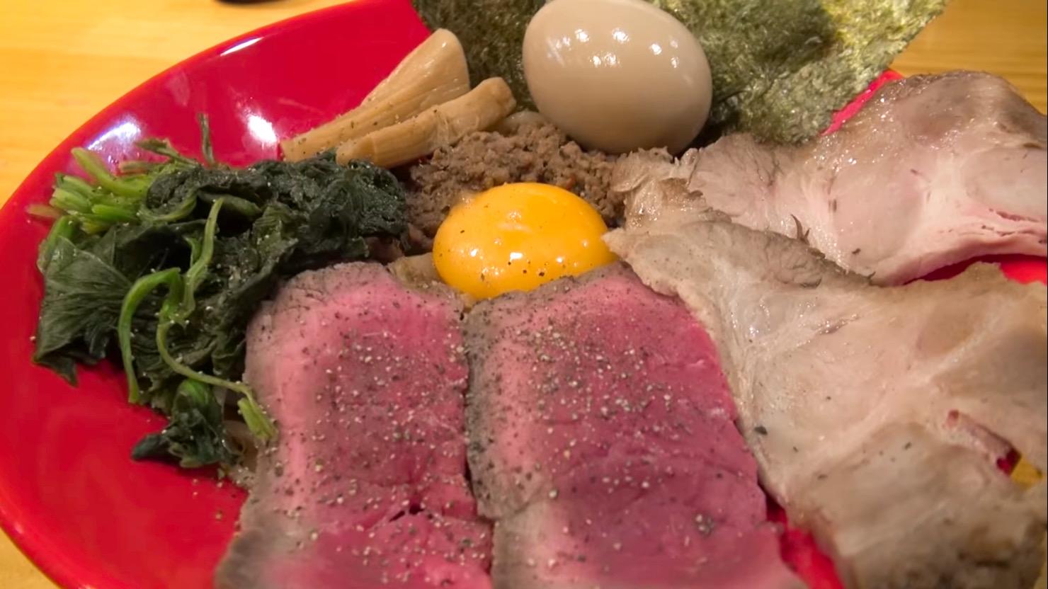 【外宮(げくう)】牛まぜそば(全部のせ) (東京都板橋区大山西町) 第721回