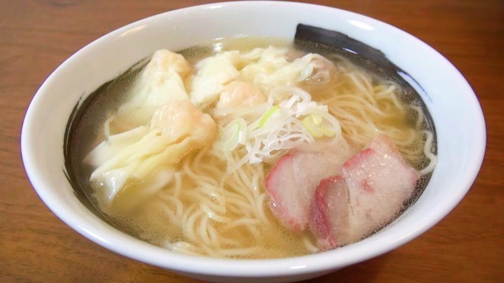 【宅麺.com:八雲(やくも)】特製ワンタン麺(白) (東京都目黒区東山) 第789回