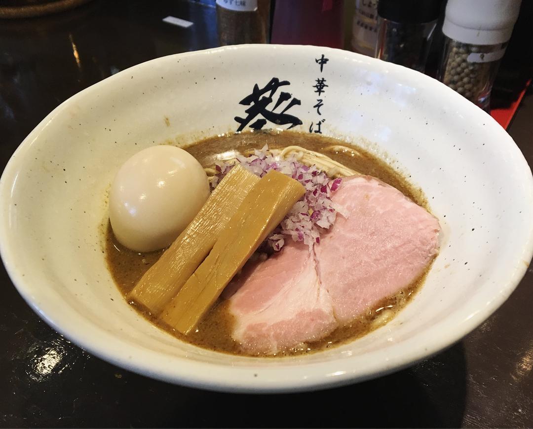 【濃厚鶏そば 葵】濃厚つけ麺(特製トッピング) (埼玉県蕨市中央) 第894回