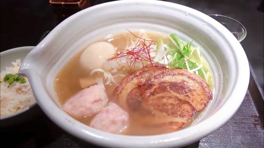 【麺処 銀笹(ぎんざさ)】銀座塩ラーメン トッピング:味玉 (東京都中央区銀座) 第917回