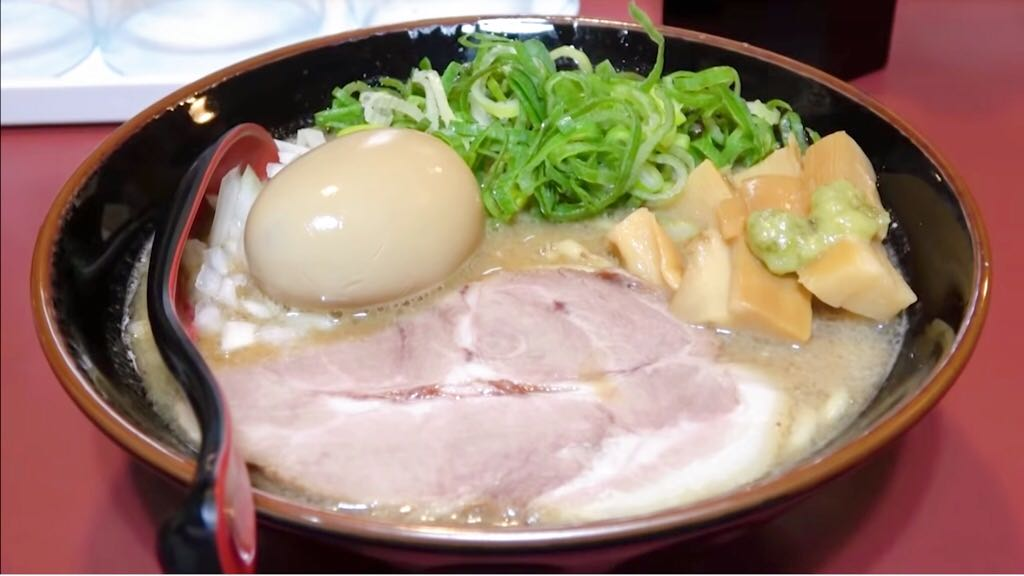 【豚鬼(とんき)】味玉豚骨 (静岡県浜松市中区上島) 第1119回