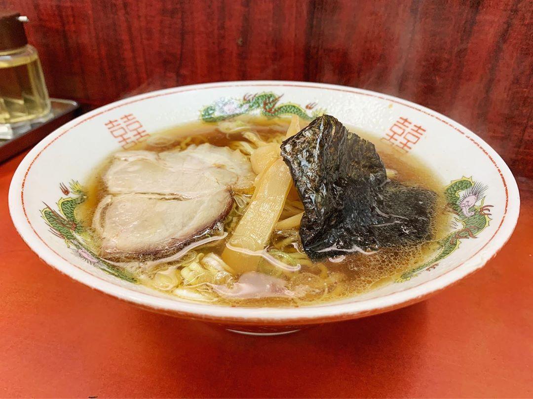 【おおむら】ラーメン+半チャーハン (東京都武蔵野市吉祥寺) 第1355回