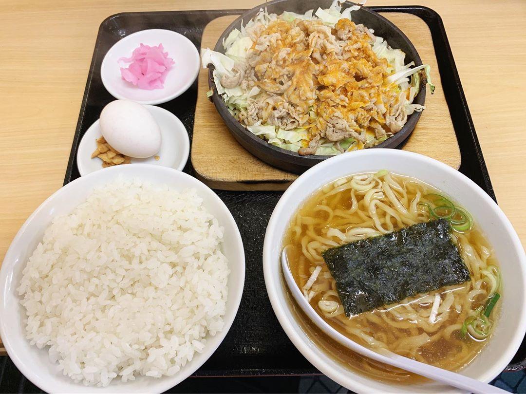 【大盛軒】鉄板麺 (東京都中野区東中野) 第1351回