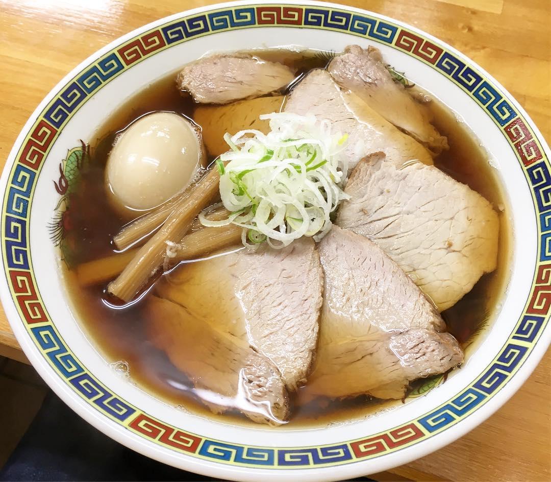 【くどうラーメン】チャーシューメン大+煮たまご (青森県青森市新町) 第371回
