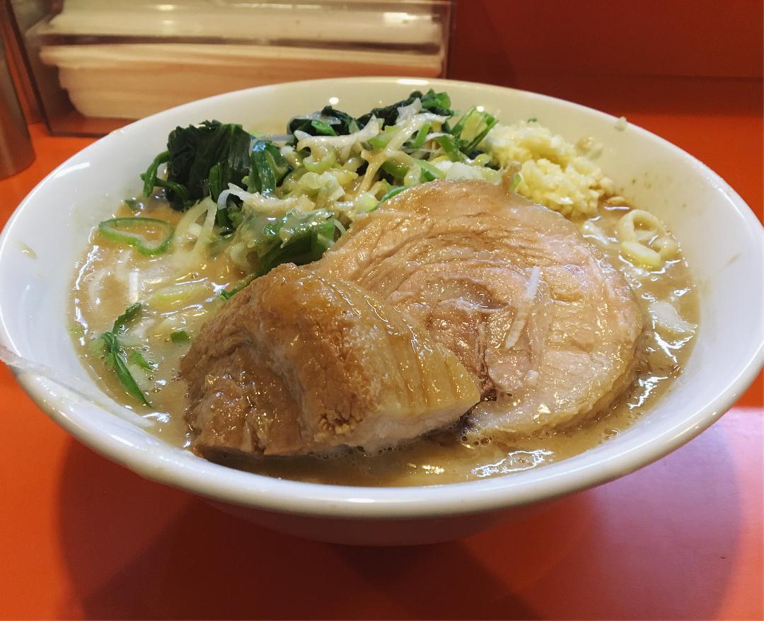 【ちばから 市原本店】らーめん+レン草:生卵 (千葉県市原市西国分寺台) 第884回