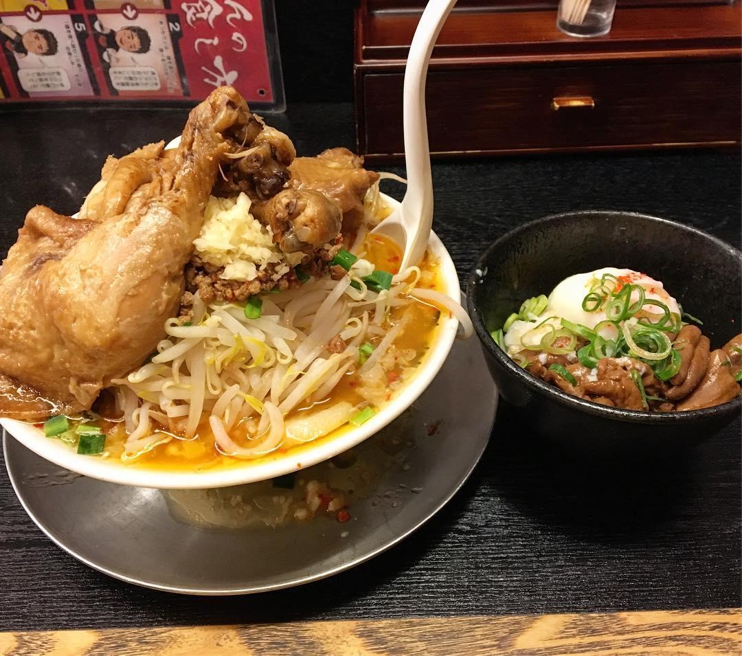 【つけめん舎 一輝】台湾鶏二郎レベルMAX (愛知県岡崎市法性寺町) 第489回