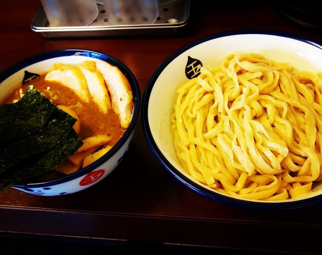 【つけめん 玉】特製つけ麺(中盛) (神奈川県川崎市川崎区) 第249回