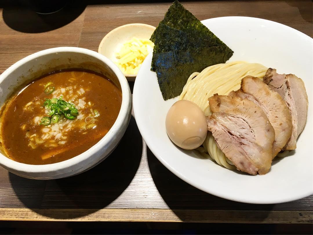 【つけ麺一燈】特製サバカレーつけ麺+とろけるチーズ (東京都葛飾区東新小岩) 第322回