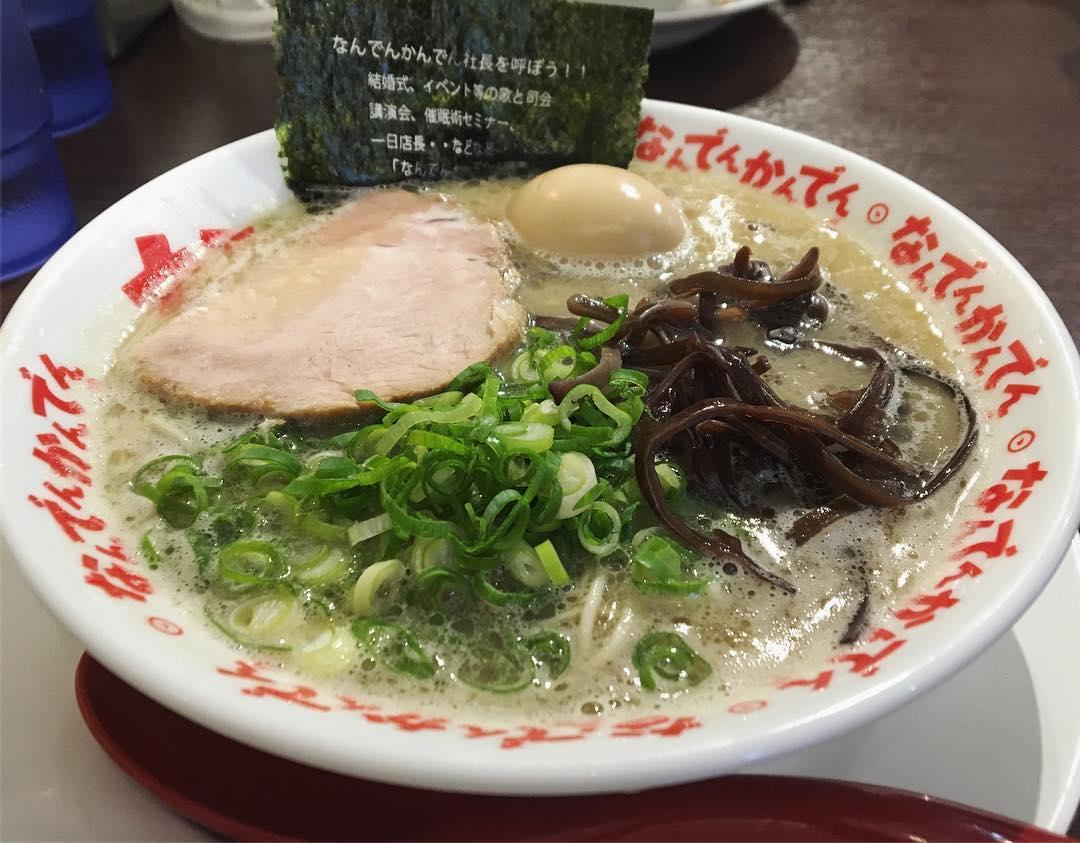 【なんでんかんでん】味玉ラーメン (東京都杉並区高円寺南) 第1085回