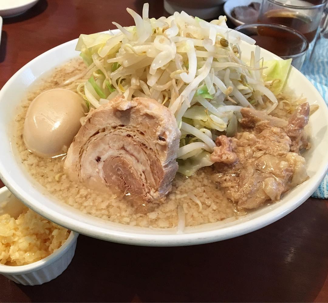 【ふる川】豚そば(並盛)、トッピング:味付玉子 (茨城県水戸市白梅) 第524回