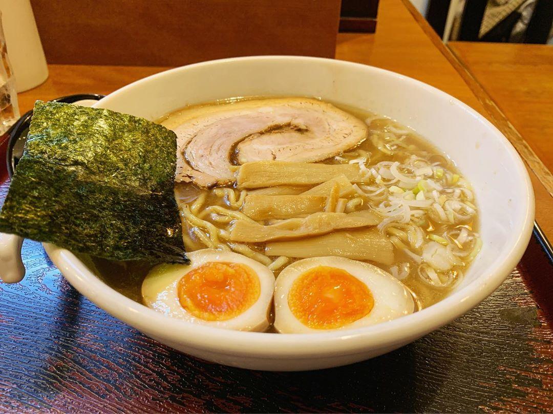 【めん和正(わしょう)】中華麺、トッピング:味玉 (東京都世田谷区太子堂) 第1330回