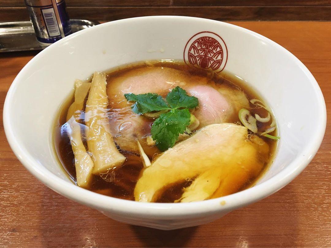 【らぁ麺とうひち】鶏醤油らぁ麺 (京都府京都市北区大宮北) 第1266回
