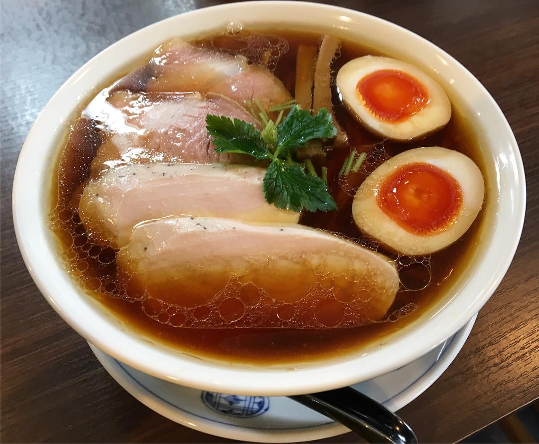 【らぁ麺 紫陽花(あじさい)】特製醤油らぁ麺(大盛) (愛知県名古屋市中川区) 第509回