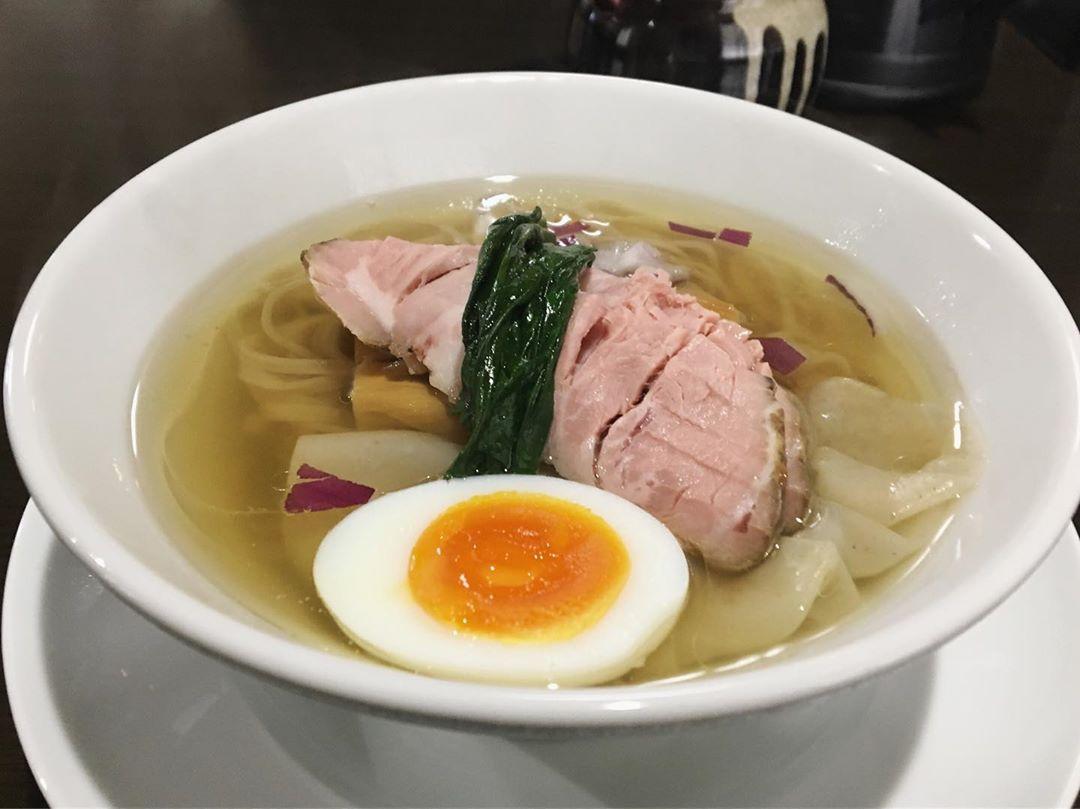 【ガチ麺道場】鶏と魚の塩そば (愛知県豊川市美園) 第1224回