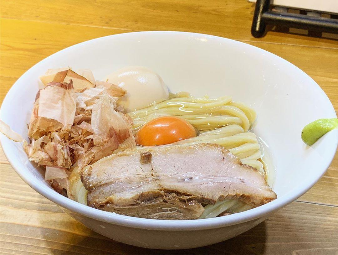 【ゴールデンタイガー】特製TKM(卵かけ麺) 、トッピング:鰹節 (埼玉県熊谷市本町) 第1277回