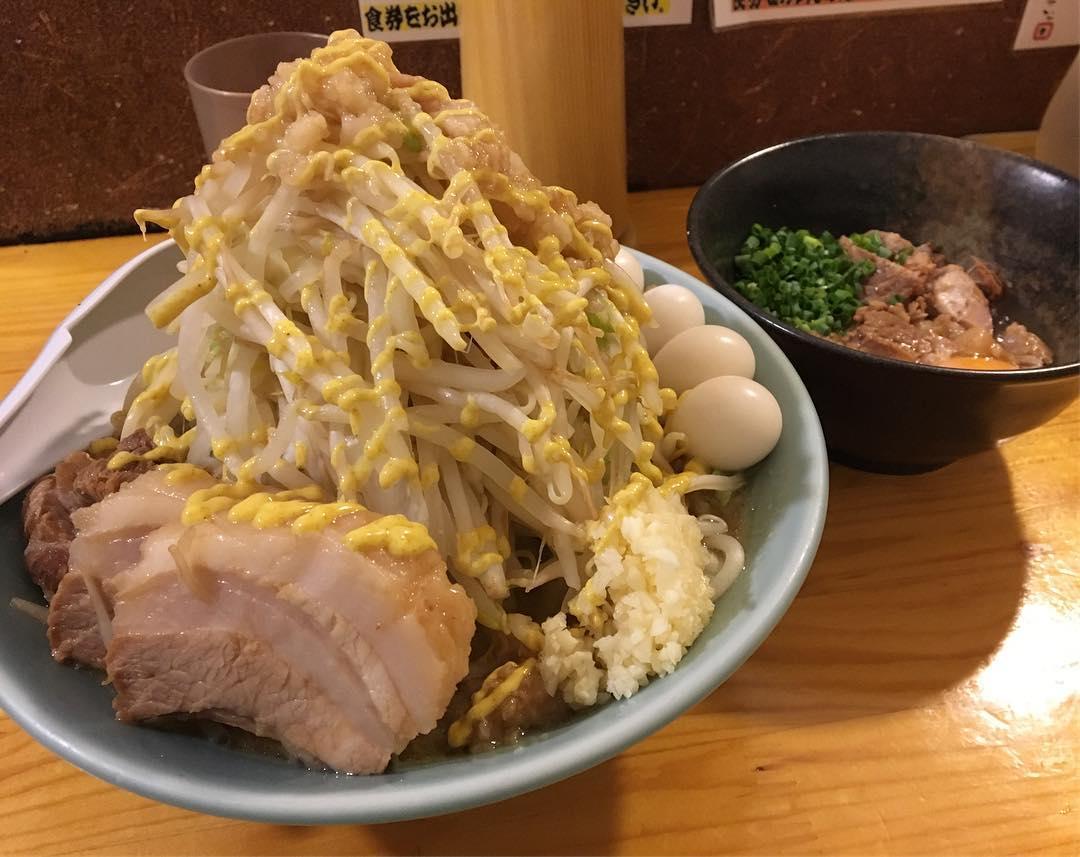 【ラーメン慶次郎】ラーメン+うずら:すきやき(別皿) (東京都板橋区本町) 第675回