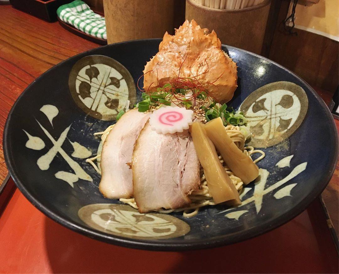 【ラーメン考房 昭和呈(しょうわてい)】ずわい蟹まぶし麺 (愛知県常滑市苅屋柳田) 第1251回