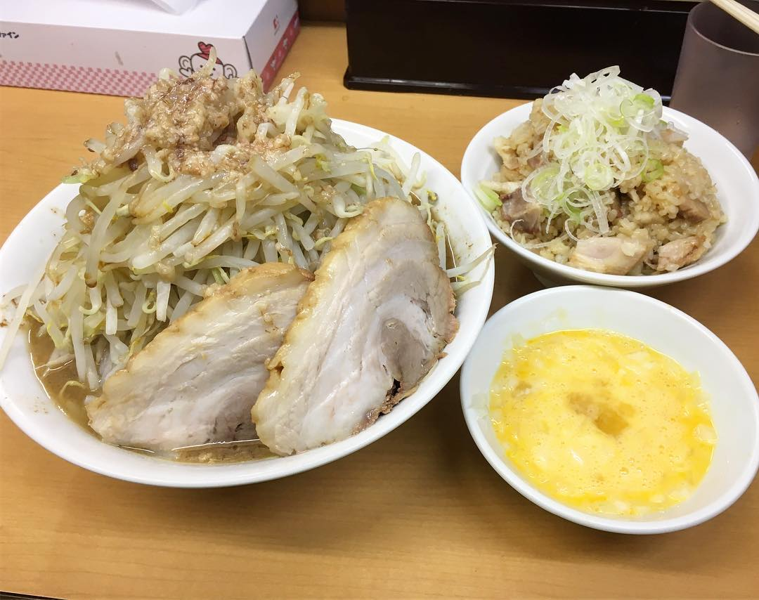 【ラーメン ○菅】らーめん+豚1枚:生卵 (東京都葛飾区亀有) 第443回