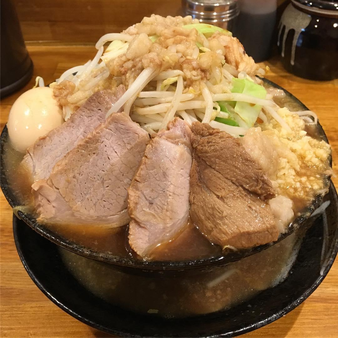 【ラーメン 盛太郎】チャーシュー麺(並盛)+煮玉子 (東京都千代田区内神田) 第452回