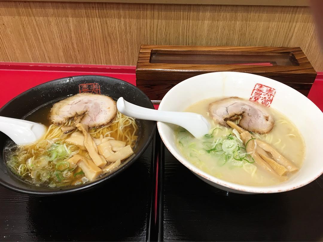 【中華厨房 寿がきや】寿がきやラーメン・醤油ラーメン (愛知県名古屋市中村区) 第490回