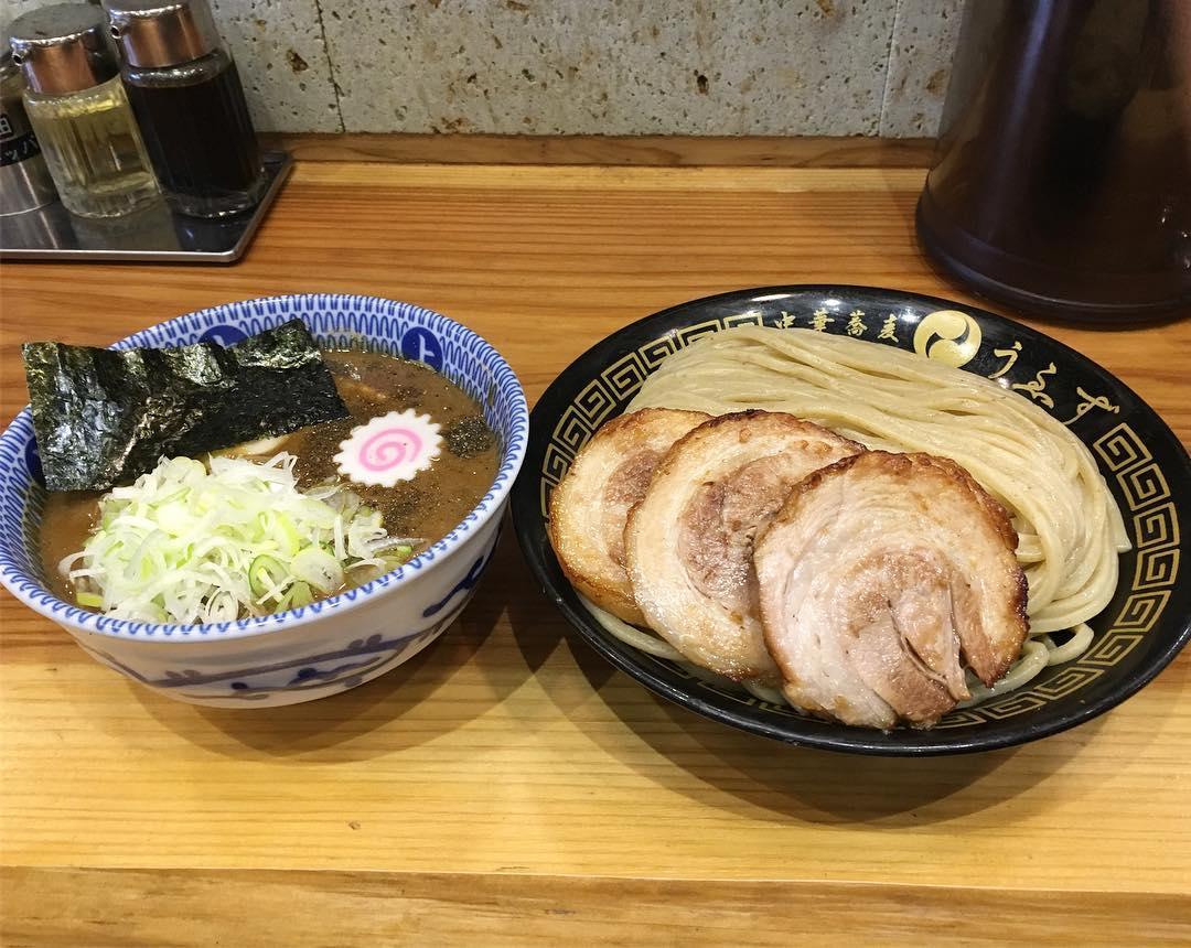 【中華蕎麦 うゑず】特製つけ麺(並) (山梨県中巨摩郡昭和町) 第386回