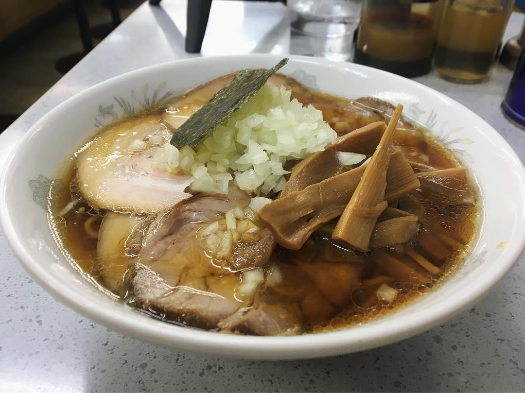 【丸幸(まるこう)】チャーシューメンミックス(卵麺) (東京都武蔵野市境) 第1166回
