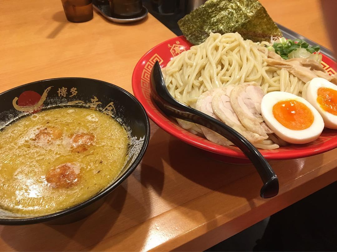 【博多一幸舎 池袋東口店】博多水炊き 味玉鶏つけ麺(大盛り) (東京都豊島区東池袋) 第661回