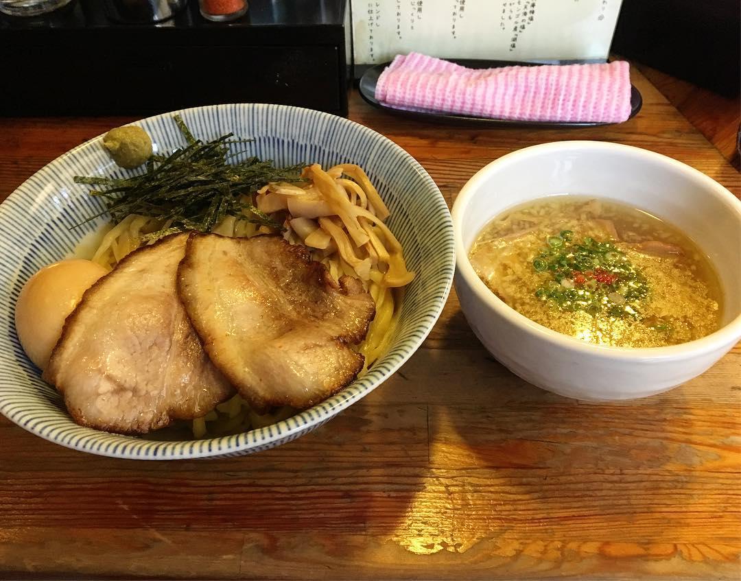 【塩つけ麺 灯花(とうか)】特製淡麗塩つけ麺 (東京都新宿区荒木町) 第530回