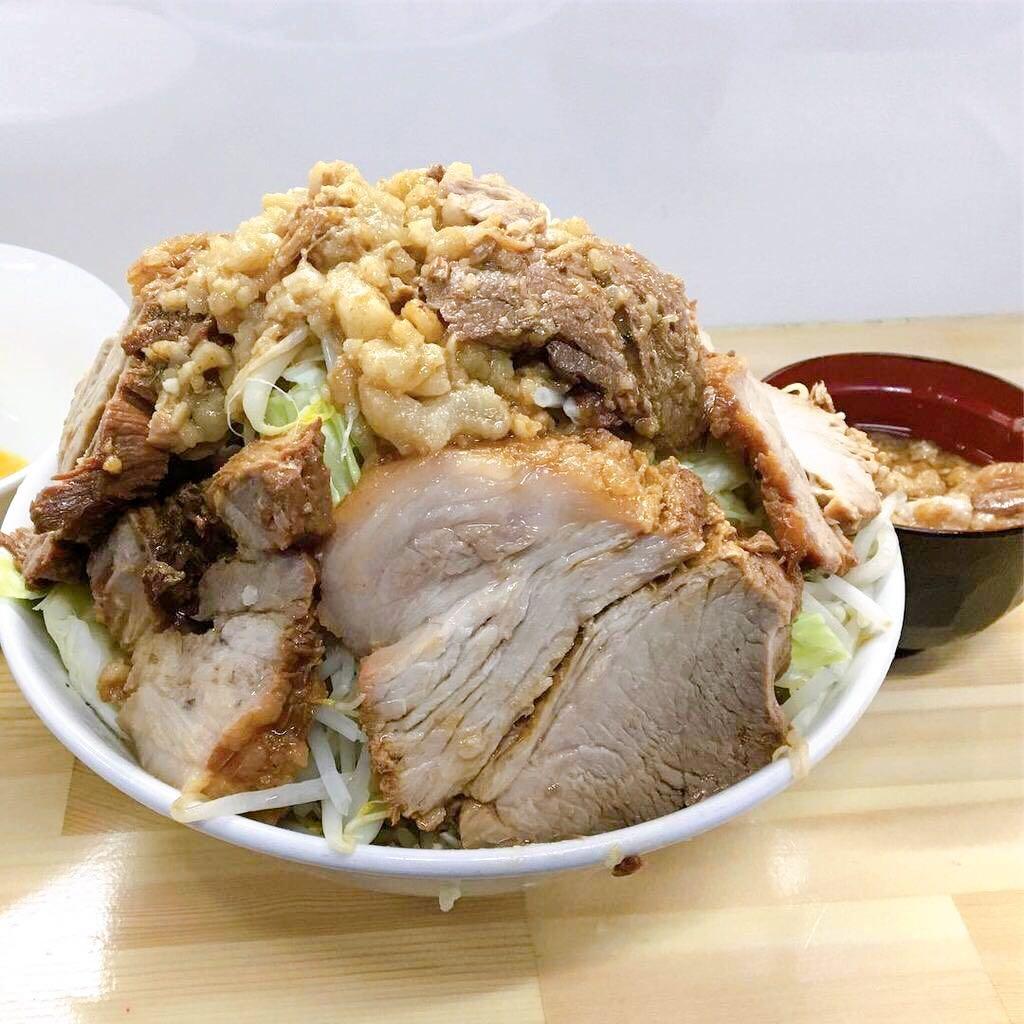 【夢を語れTOKYO】豚らーめん(汁なし)+生玉子 (東京都文京区白山) 第599回