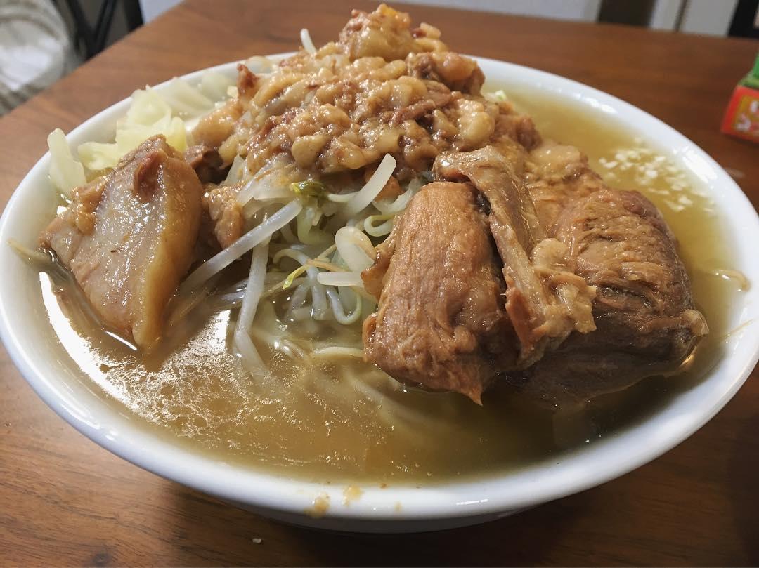 【宅麺.com:ラーメン富士丸 神谷本店】元祖ブタカスアブラ富士丸 (東京都北区神谷) 第1152回