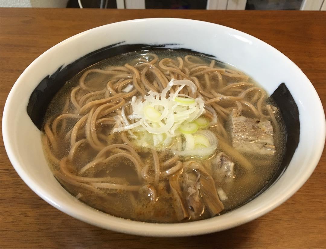【宅麺.com:G麺7】年越しそばもどき 塩 (神奈川県横浜市港南区) 第787回