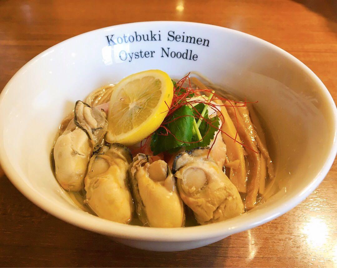 【寿製麺よしかわ】カキそば・いわしそば (埼玉県川越市今福) 第865回