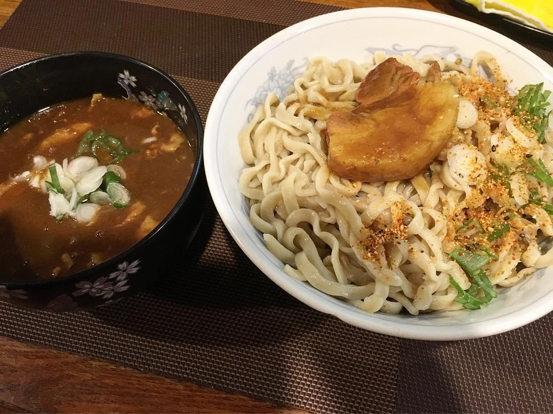 【居酒屋 こまめ】カレーつけ麺 (埼玉県越谷市大里) 第355回