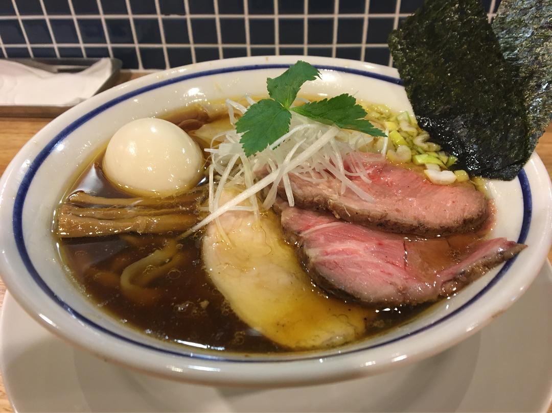 【手打ち式超多加水麺 ののくら】特製中華蕎麦(醤油) (東京都葛飾区亀有) 第818回