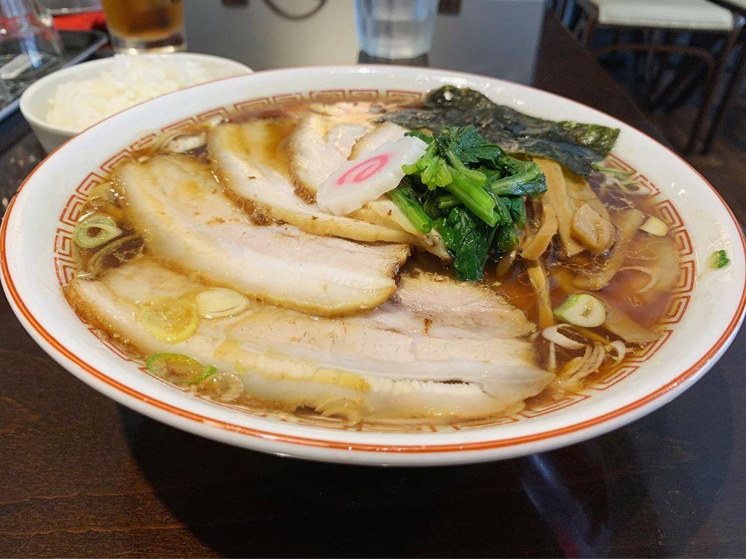 【新潟長岡らぁめん 安ざわ食堂】チャーシュー麺 (東京都板橋区上板橋) 第1305回