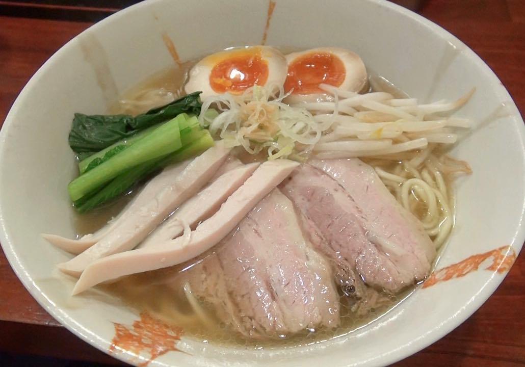 【旬麺 しろ八】塩しろ八 (東京都新宿区新宿) 第504回