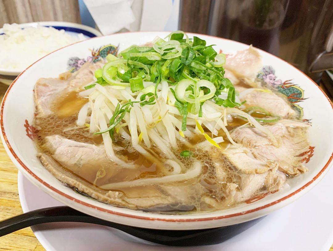 【本家 第一旭 新宿店】チャーシュー麺 (東京都新宿区新宿) 第1318回