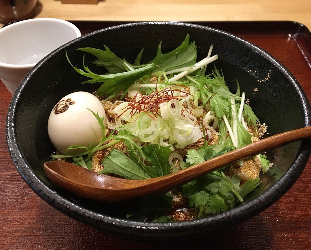【江戸麺 熊八】味玉担々麺(中辛) (東京都江東区森下) 第624回