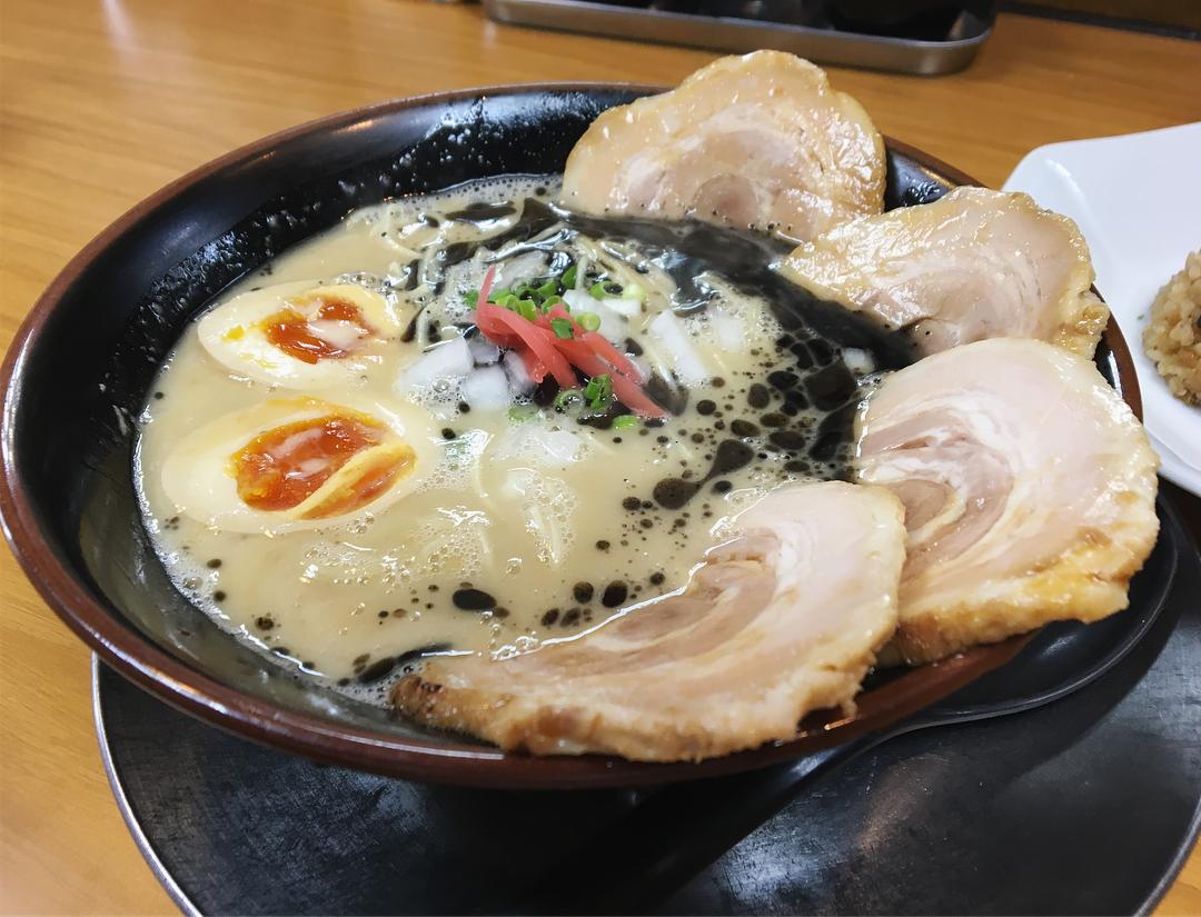 【猪や(いのや)】黒とんちゃーしゅー・猪やめし (新潟県新潟市中央区) 第954回