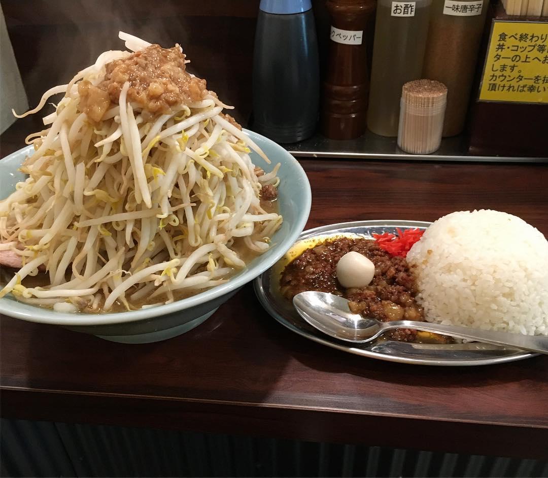 【立川マシマシSSR】小ラーメン+豚増し:生卵 (埼玉県所沢市緑町) 第361回
