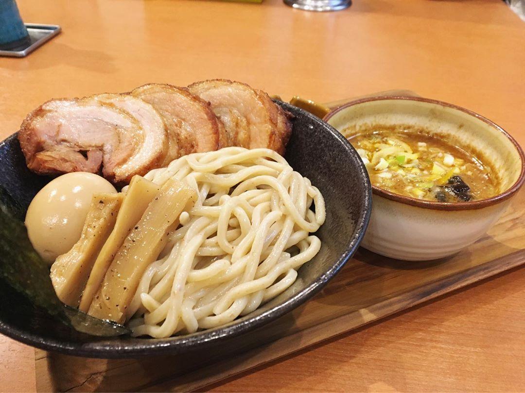【笹の極み 】特製味噌つけ麺、トッピング:辛味 (福井県福井市西開発) 第1248回