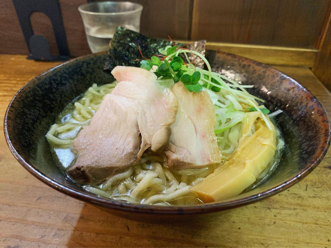 【貝ガラ屋】牡蠣そば+貝めし (神奈川県相模原市中央区) 第1311回