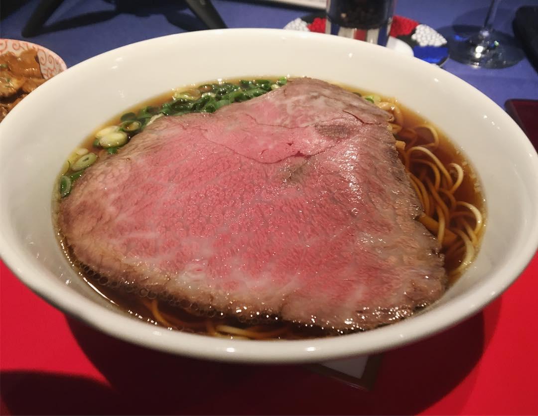 【貴真(きしん)】神戸牛ラーメン (東京都渋谷区猿楽町) 第1043回