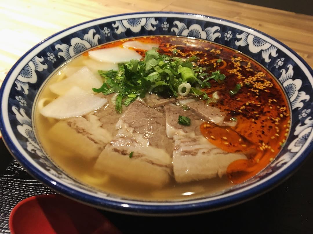 【金味徳(じんうぇいとく)】蘭州牛肉麺 (東京都港区六本木) 第1192回